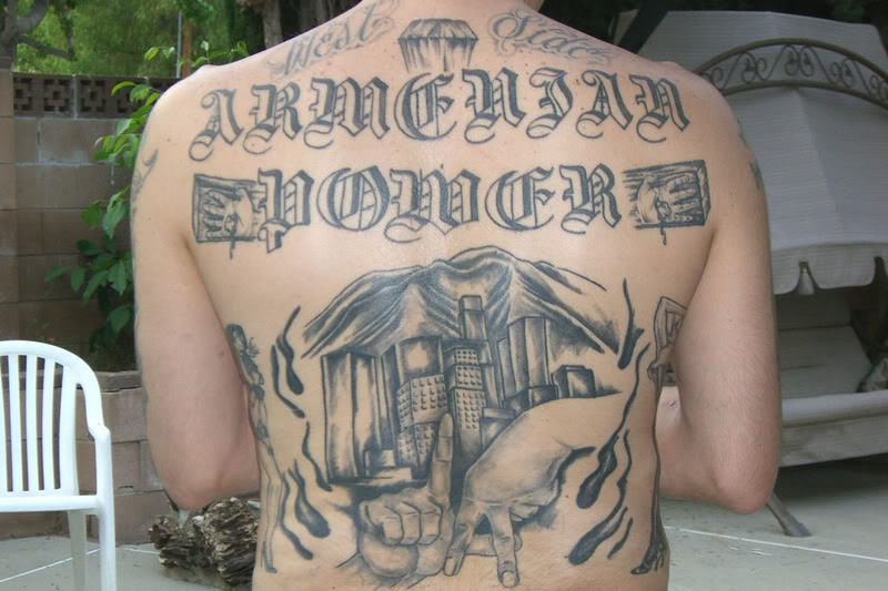 Armenian Power tattoo/ photobucket.com. It also unknown if the shooting was