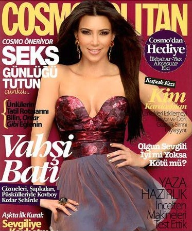 Kim Kardashian's Cosmo Turkey Cover Causes Upset