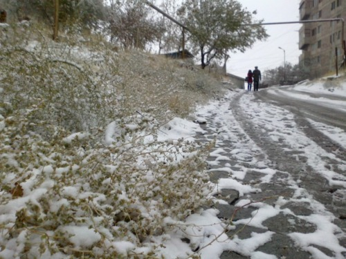 In Armenia, Snow Season Has Begun